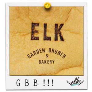 ELK GARDEN BRUNCH & BAKERYオープン!