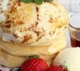 クリームチーズブリュレとMIXベリーソース